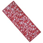 Celebrate Valentine's Day Together Hearts Tapestry Table Runner - 36""