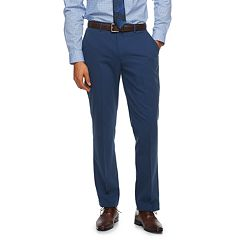 Men's Apt. 9® Extra-Slim Fit HEIQ Stretch Performance Flat-Front Suit Pants