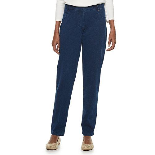 Women's Cathy Daniels Pull-On Straight Leg Jeans