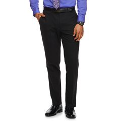 Men's Apt. 9® Slim-Fit HEIQ Stretch Performance Flat-Front Suit Pants