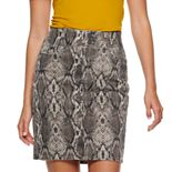 Women's Apt. 9® Tummy Control Denim Skirt