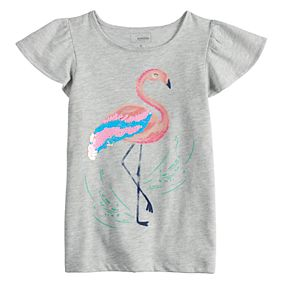 Girls 4-12 SONOMA Goods for Life? Flip-Sequin Graphic Tee