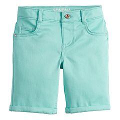 Girls 4-12 SONOMA Goods for Life™ Solid Bermuda Shorts