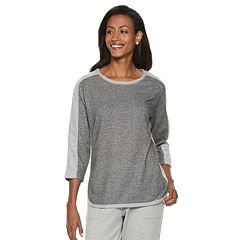 Women's Cathy Daniels Colorblock Knit-to-Fit Lurex Top