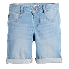 Girls 4-12 SONOMA Goods for Life™ Denim Bermuda Shorts