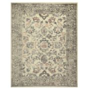 Maples Silverthorne Distressed Border Rug