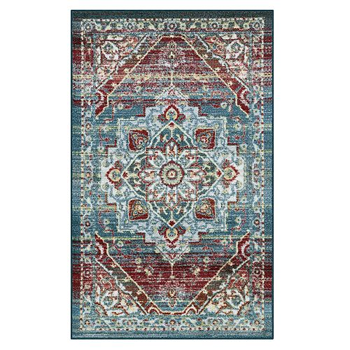 Maples Cliff Distressed Medallion Rug