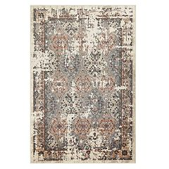 Maples Frisco Distressed Bordered Medallion Rug