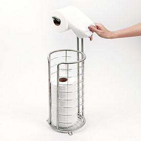 Interdesign Forma Free-Standing Bathroom Toilet Paper Roll Storage & Dispenser
