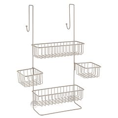 Interdesign Metalo Bathroom Over the Door Shower Caddy