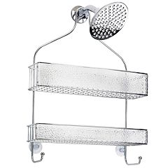 Interdesign Rain Wide Bathroom Shower Caddy