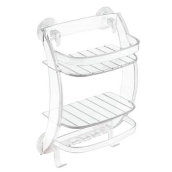 Interdesign Power Lock Bathroom Shower Storage Caddy