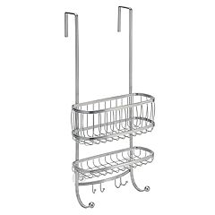 Interdesign York Bathroom Over the Shower Door Caddy