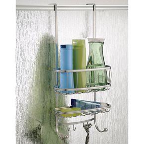 Interdesign York Bathroom Over the Shower Door Caddy