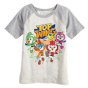 Boys 4-12 Jumping Beans® Top Wing Raglan Graphic Tee