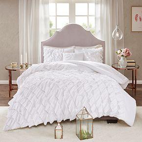 Madison Park Noreen 4-piece Ruffled Comforter Set