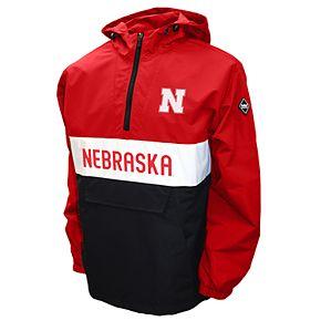 Men's Franchise Club Nebraska Cornhuskers Alpha Anorak Pullover