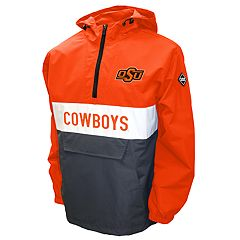 Men's Franchise Club Oklahoma State Cowboys Alpha Anorak Pullover