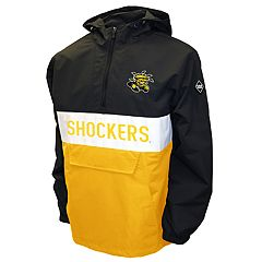 Men's Franchise Club Wichita State Shockers Alpha Anorak Pullover