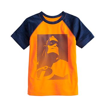 Disney / Pixar The Incredibles Boys 4-12 Mr. Incredible Active Raglan Tee by Jumping Beans®