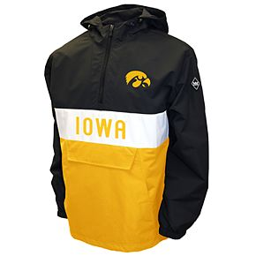 Men's Franchise Club Iowa Hawkeyes Alpha Anorak Pullover