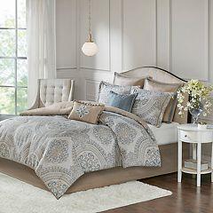Madison Park Verena 8-piece Chenille Jacquard Comforter Set