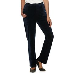 Women's Dana Buchman Pull-On Velour Pants