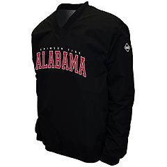Men's Franchise Club Alabama Crimson Tide Windshell Pullover