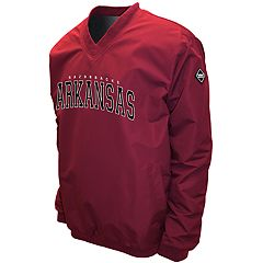 Men's Franchise Club Arkansas Razorbacks Windshell Pullover