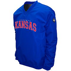 Men's Franchise Club Kansas Jayhawks Windshell Pullover