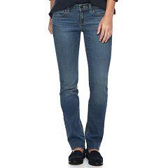 Petite SONOMA Goods for Life™ Slim Fit Straight-Leg Jeans
