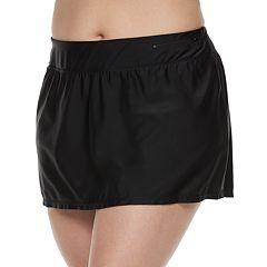 Plus Size ZeroXposur Sport Skirtini Bottoms