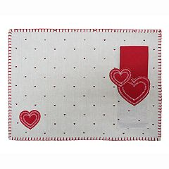 Celebrate Valentine's Day Together Linen Placemat