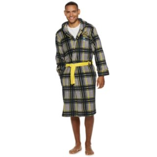 Men's Batman Plaid Robe