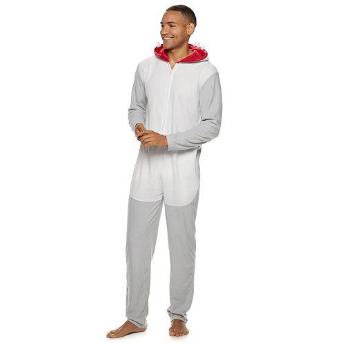 Men's Shark Union Suit