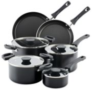 Farberware Neat Nest 10 pc. Space Saving Aluminum Nonstick Cookware Set