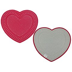 Celebrate Valentine's Day Together Quilted Hearts Placemat
