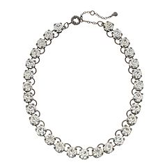 Simulated Crystal Collar Necklace