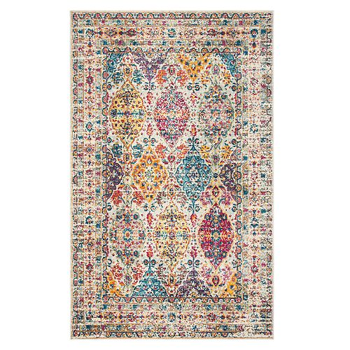 Safavieh Liam Distressed Medallion Rug