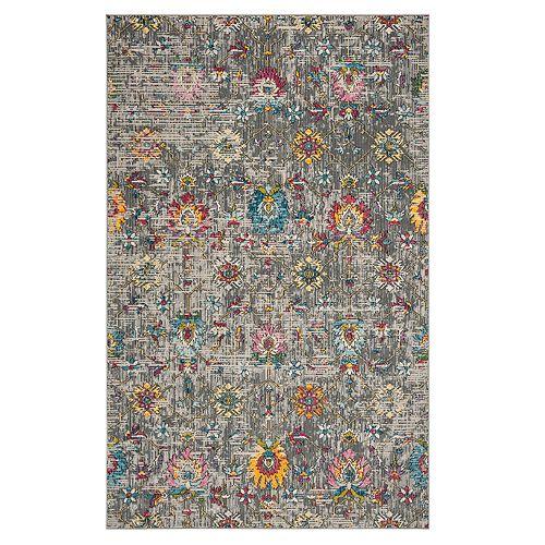 Safavieh Darius Geometric Floral Rug