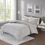Urban Habitat Space Dyed Melange Cotton Jersey Knit Comforter Set