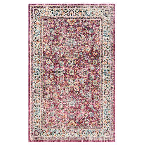 Safavieh Oakley Colorful Framed Floral Rug