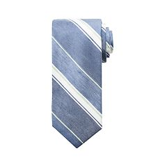 Men's Chaps Harper Striped Linen-Blend Tie