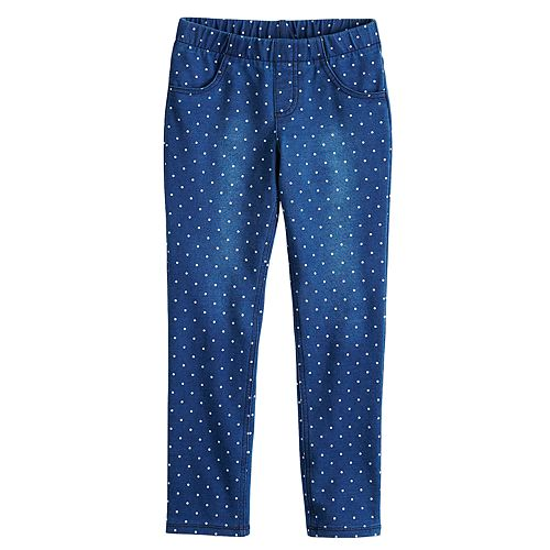 Girls 4-12 Jumping Beans® Polka-Dot Jeggings