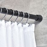 Interdesign Cameo Constant Tension Bathroom Shower Curtain Rod