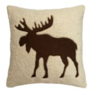 St. Nicholas Square® Moose Throw Pillow