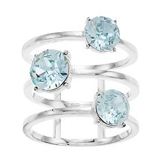 Brilliance 3-Tier Ring with Swarovski Crystal