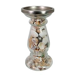 SONOMA Goods for Life™ Small Coastal Shell Pillar Candle Holder