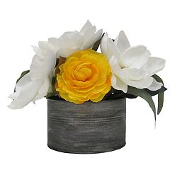 SONOMA Goods for Life™ Magnolia & Ranunculus Artificial Floral Arrangement