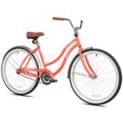 "Pedal Chic 26"" Coral Crush Cruiser Bike"